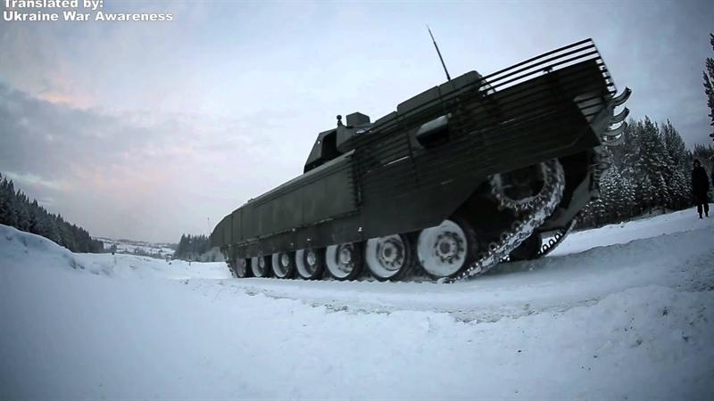 Chính vì vậy, xe tăng T-14 Armata sẽ được trang bị pháo 152 mm thay vì 125 mm hiện có. Ngoài ra nhận thức về tình huống của kíp lái cần được nâng cao về mặt chất lượng, để đưa ra hành động kịp thời trong các hoạt động tác chiến ở tương lai.