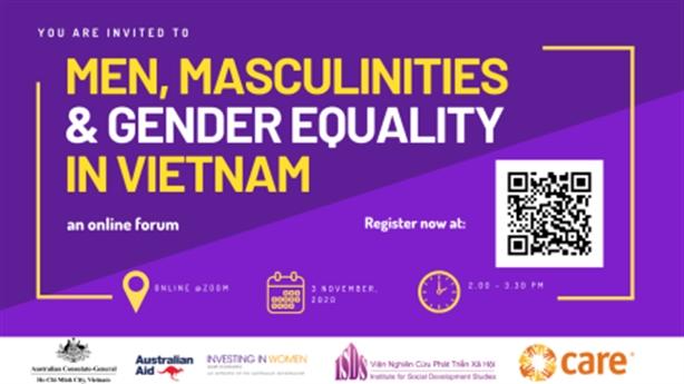 Trực tuyến về bình đẳng giới nam giới tại Việt Nam