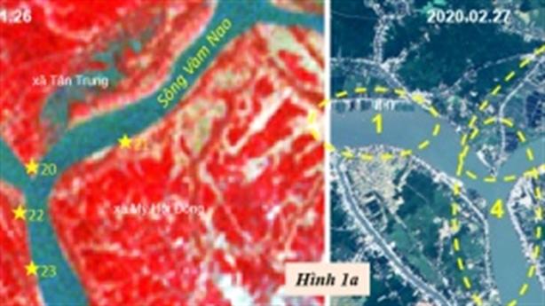 Về dòng chảy sông Hậu tại ngã ba Vàm Nao