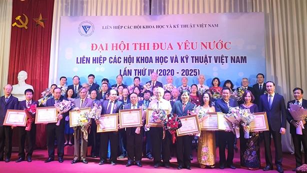 Liên hiệp Hội Việt Nam tích cực thi đua yêu nước