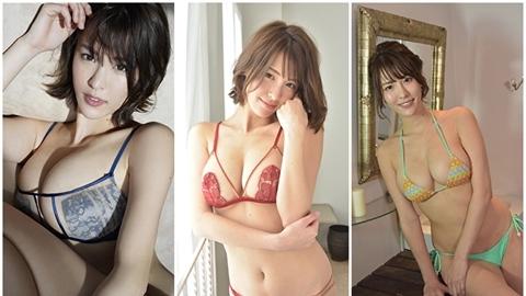 Đệ nhất siêu vòng một mới của Nhật quá gợi cảm
