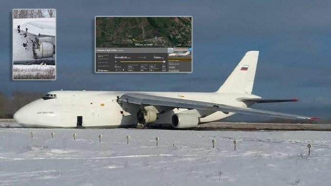 Trong khi đó hệ thống liên lạc vô tuyến cũng không hoạt động buộc phi hành đoàn phải hạ cánh khẩn xuống Tolmachevo.