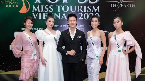 Top 35 thí sinh bước vào Bán kết Miss Tourism Vietnam 2020
