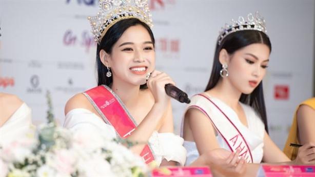 Tranh cãi phát ngôn của Hoa hậu Đỗ Thị Hà trên mạng