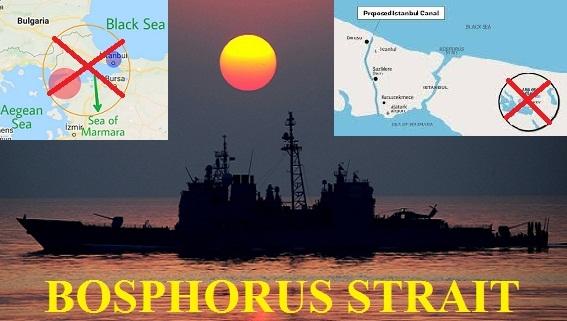 Eo biển Bosphorus: Không phải cứ thích là phong tỏa