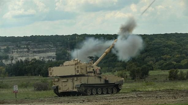 Siêu pháo tự hành Mỹ nhả đạn