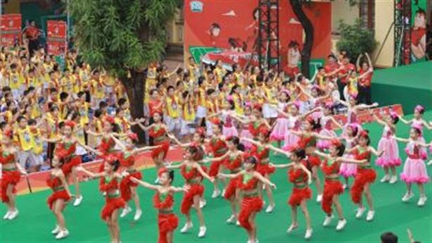 Kun Dance Festival-Vận động nhiều hơn cùng trẻ em Việt Nam