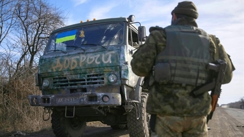 Vận tải quân sự Ukraine trong cơn khủng hoảng