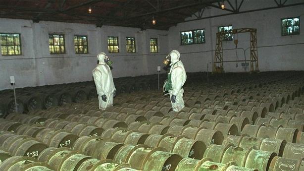 Mỹ đồng ý cấm vũ khí hóa học nhưng vẫn lưu trữ?