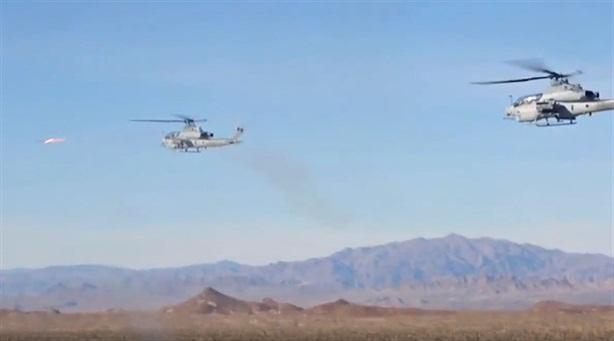 Trực thăng AH-1Z Viper đánh chặn như tiêm kích
