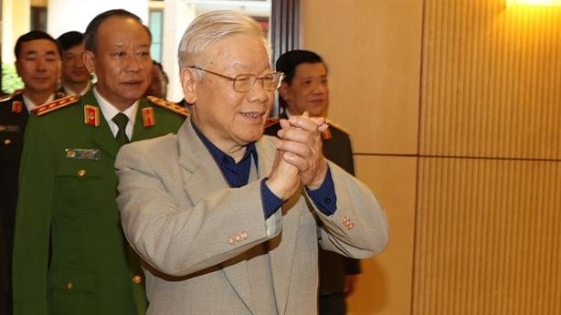 TBT,Chủ tịch nước dự Hội nghị của Đảng ủy Công an TW