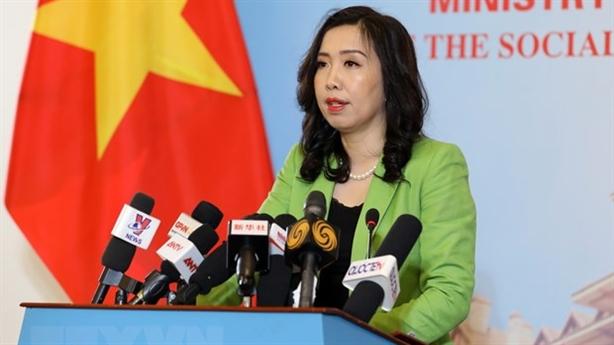Yêu cầu Đài Loan không diễn tập trái phép ở Trường Sa