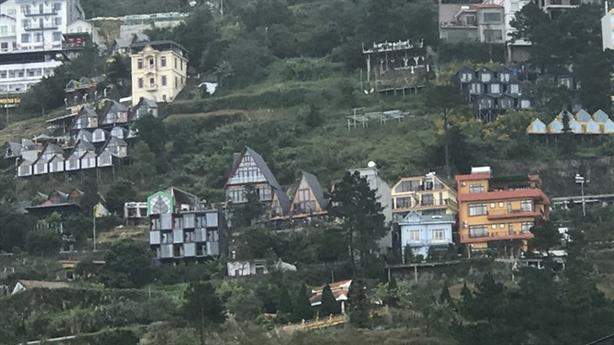 Yêu cầu báo cáo vi phạm xây dựng tại Tam Đảo