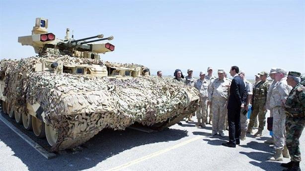 Được biết, tại chảo lửa Deir Ezzor của Syria hồi năm 2017, Terminator đã lần đầu tham chiến và thể hiện được sức mạnh ấn tượng của mình. Tại đây, những cỗ xe Terminator đã được lắp thêm các khối giáp mềm.