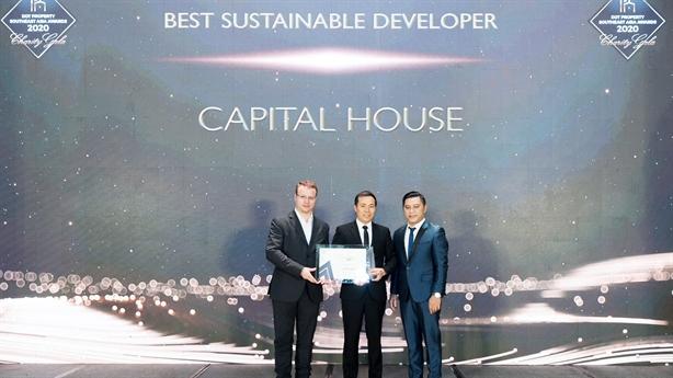 Capital House được vinh danh nhà đầu tư bền vững ĐNA 2020