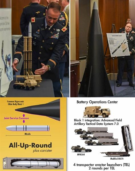 Điều đặc biệt là trong giai đoạn đầu, Dự án LRHW sẽ tạo chỉ tạo ra tổ hợp tên lửa siêu thanh trên mặt đất, sau khi được trang bị sẽ có thêm phiên bản trang bị tổ hợp cho các tàu mặt nước và tàu ngầm - chương trình này có tên là \