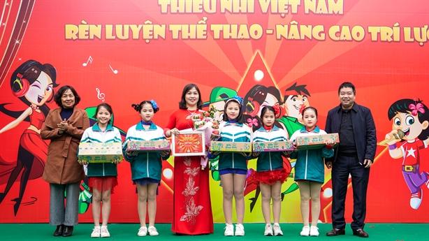 Thiếu nhi Thái Bình cháy hết mình với Kun Dance Festival