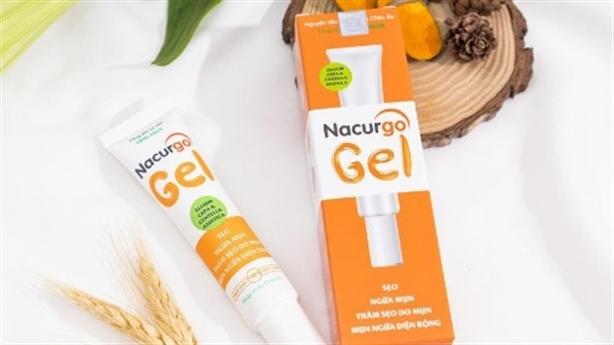 Nacurgo Gel-bí quyết trị mụn, sẹo từ bộ đôi thảo dược Pháp