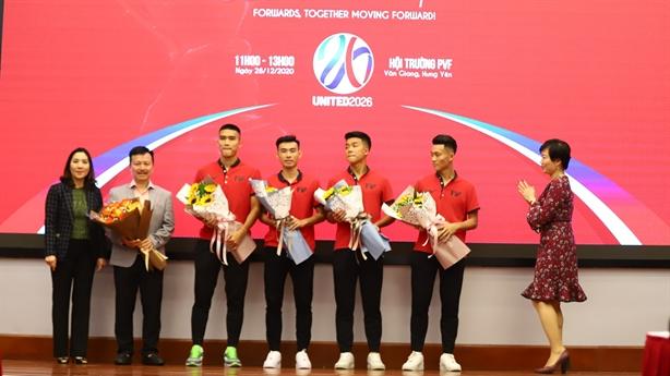 PVF nhượng 20 cầu thủ cho các CLB bóng đá chuyên nghiệp