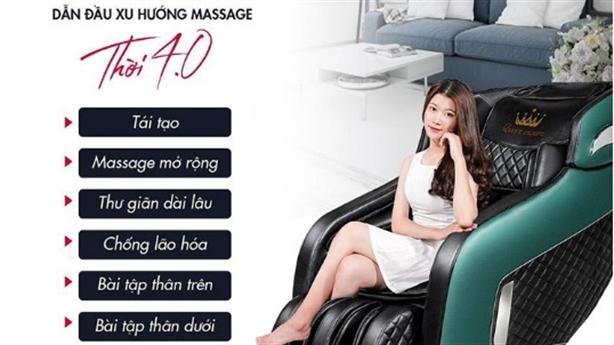Queen Crown - Đại lý ghế massage uy tín tại Việt Nam