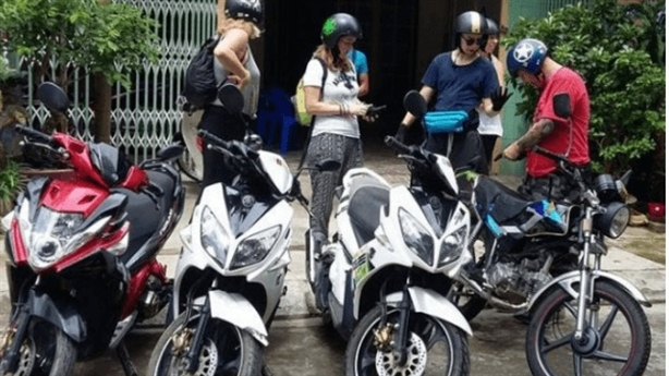 Thuê xe máy - không thể bỏ qua khi du lịch Nha Trang