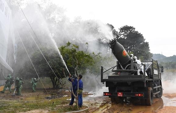 Hiện nay, Hóa Học là một trong nhưng binh chủng được trang bị cực tối tân của Quân đội Việt Nam. Trong đó có xe thả khói KH-01. Xe thả khói KH-01 đang được trang bị rộng rãi cho các đơn vị trong toàn quân.