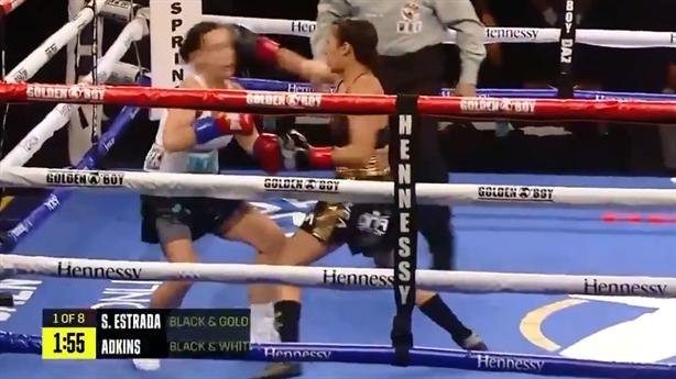 Cú knock-out cực nhanh của nữ võ sĩ Mỹ