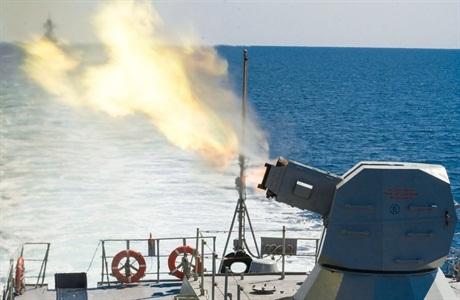 Màn khai hỏa được thực hiện nằm trong cuộc diễn tập đối phó với tên lửa hàng trình chống hạm của chiến hạm Nga.