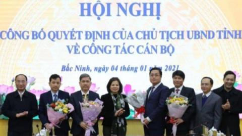 Bổ nhiệm Giám đốc Sở LĐTBXH: Bắc Ninh họp báo...