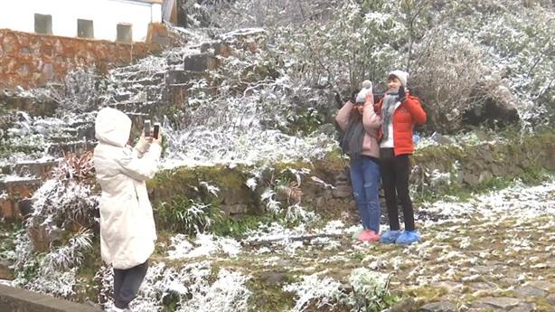 Sa Pa sắp có tuyết rơi