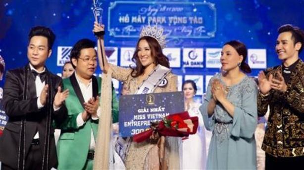 Phạt 90 triệu đồng công ty tổ chức thi hoa hậu chui