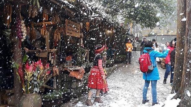 Vùng núi cao miền Bắc có thể mưa tuyết