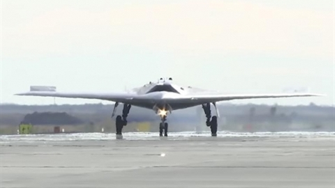 Kỷ lục thử nghiệm UAV Okhotnik