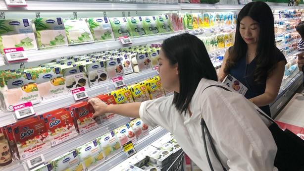 Chào 2021, Vinamilk xuất lô sữa hạt lớn đi Trung Quốc