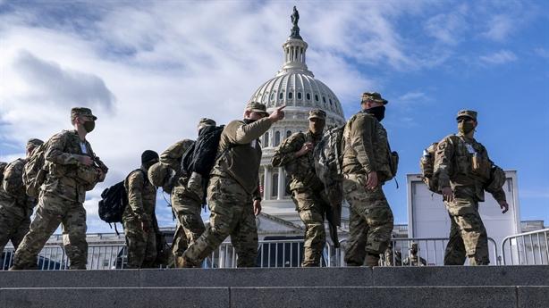 Lính Mỹ có động thái bất thường trước lễ nhậm chức Biden