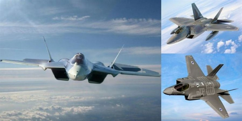Mở đầu bài viết, phi công Nga cho rằng, Su-57 của Nga sẽ đánh bại F-35 Lightning II của Mỹ trong trận không chiến một chọi một. \