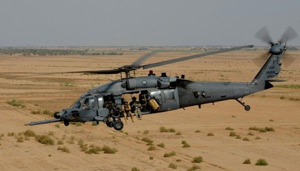 Mỹ đề phòng trực thăng bị tấn công tại Trung Đông