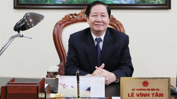 Bộ trưởng Nội vụ nói về tiêu cực 'hoàng hôn nhiệm kỳ'