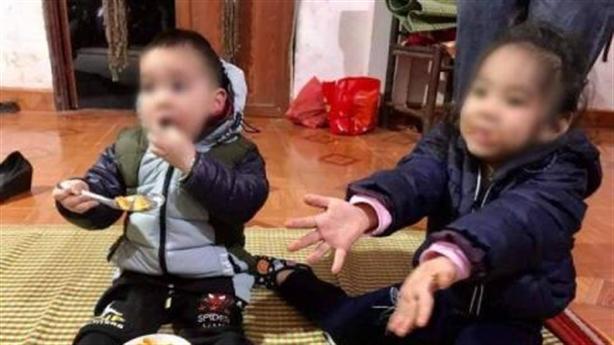 Hai bé bị bỏ lại trên đê: Đang nhận con nuôi