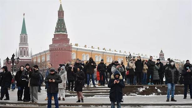Biểu tình ủng hộ Navalny: Mỹ lên tiếng, Nga gay gắt