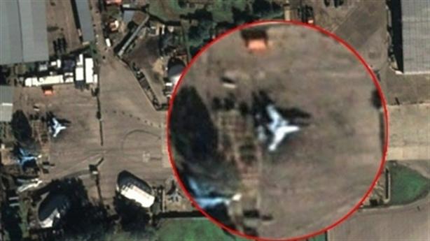 UAV S-70 Okhotnik bất ngờ được phát hiện tại căn cứ Hmeimim?