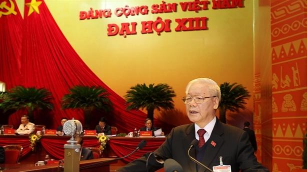 Khai mạc Đại hội XIII của Đảng