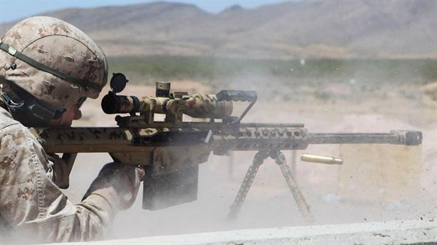 Khẩu Barrett - cơn ác mộng với chiến binh IS