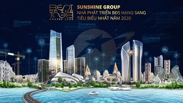 Sunshine Group– Nhà phát triển BĐS hạng sang tiêu biểu nhất 2020