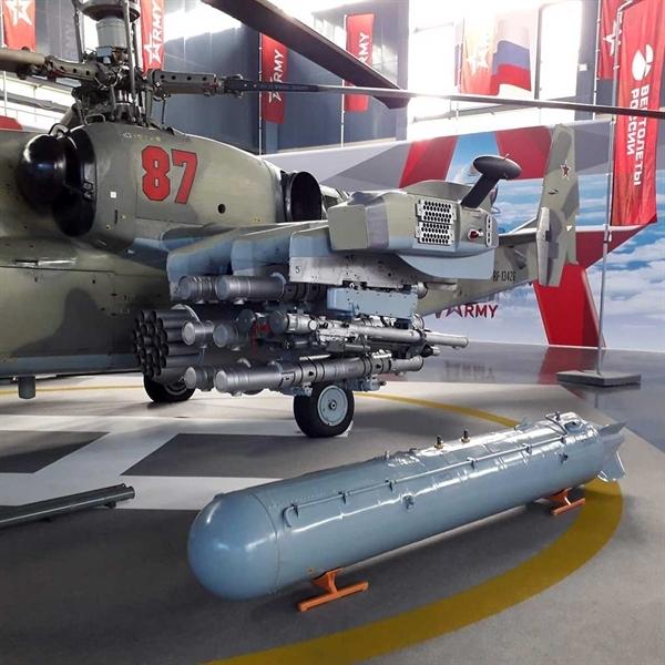 Tên lửa chống tăng của Ka-52 xuyên giáp nhỉnh hơn so với tên lửa \