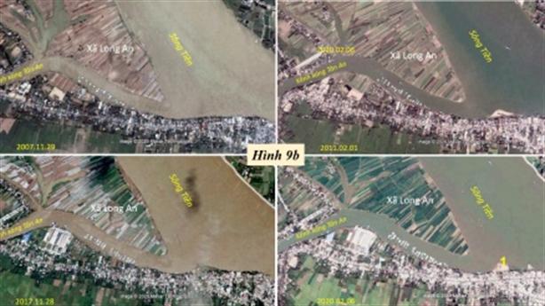 Sông Tiền từ Vĩnh Xương qua Tân Châu đến Hồng Ngự