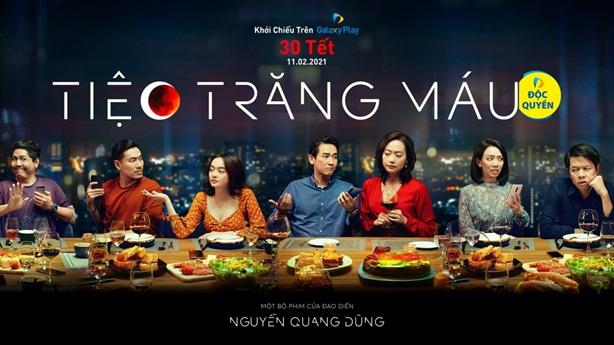 'Bom tấn' 175 tỷ đồng 'Tiệc Trăng Máu' chiếu online 30 Tết