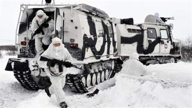 Nga tập trận mùa đông mang tên