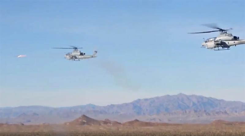 Sức mạnh đánh chặn của AH-1Z Viper được thực hiện trong cuộc diễn tập tấn công mục tiêu mặt đất kết hợp với đối phó với cuộc tấn công đường không. Cuộc diễn tập mang tên Viper Storm được thực hiện tại căn cứ của Thủy quân Lục chiến Camp Pendleton, California, Mỹ.