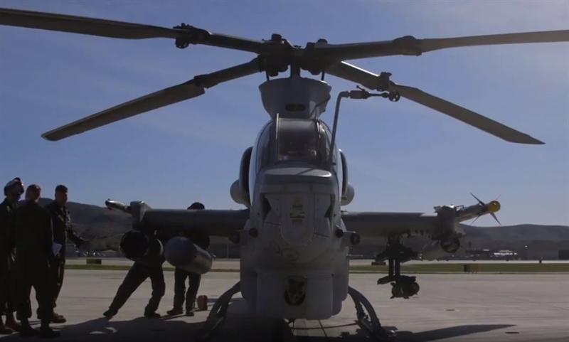 Theo hình ảnh về cuộc diễn tập được Mỹ công, khả năng đánh chặn của AH-1Z Viper khi phóng AIM-9 Sidewinder gần như tuyệt đối khi tất cả những tên lửa phóng đi đều đánh trúng mục tiêu.